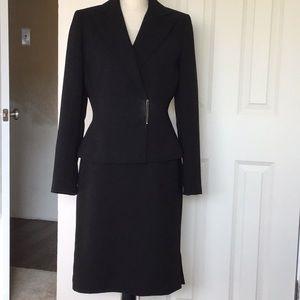 Classic Black Business Suit